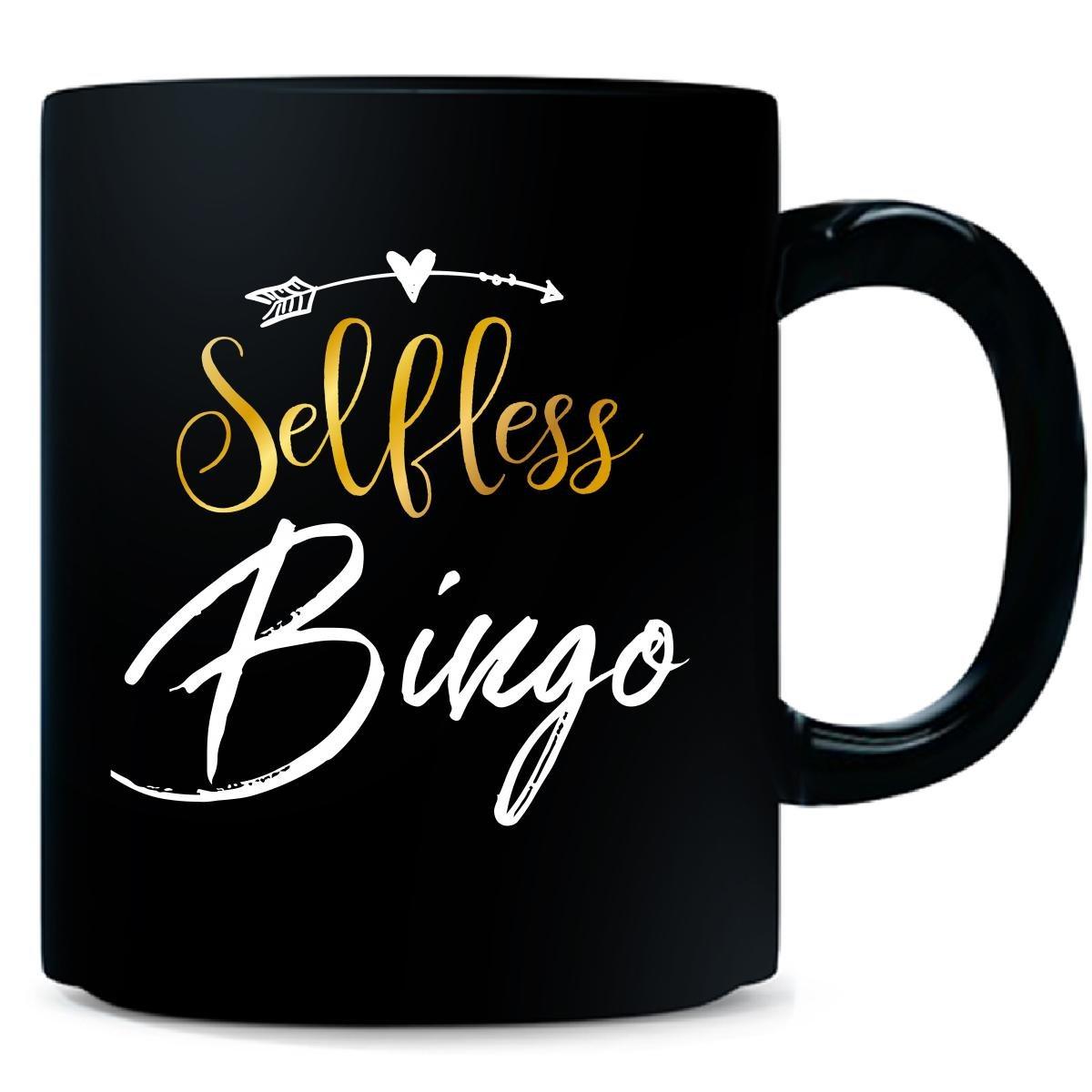 Selfless Bingo Name Mothers Day Present Grandma - Mug
