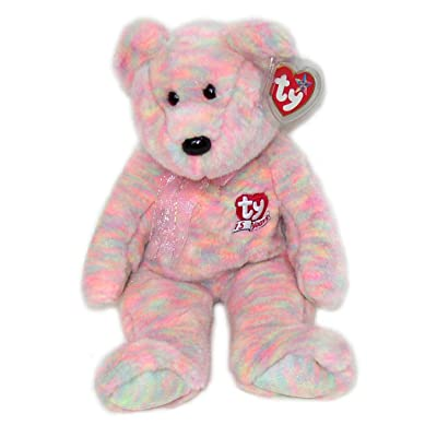 Ty Beanie Buddies Celebrate - 15th Year Bear: Toys & Games