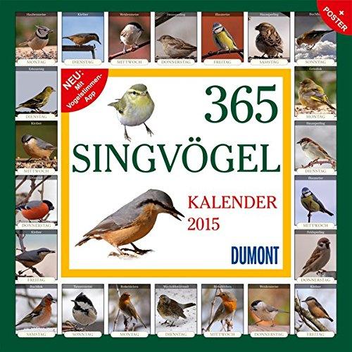 365 Singvögel - Kalender 2015