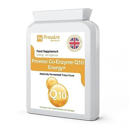 Prowise Co-Enzima Q10 (CoQ10) 100mg 90 cápsulas vegetarianas - Rápida liberación de