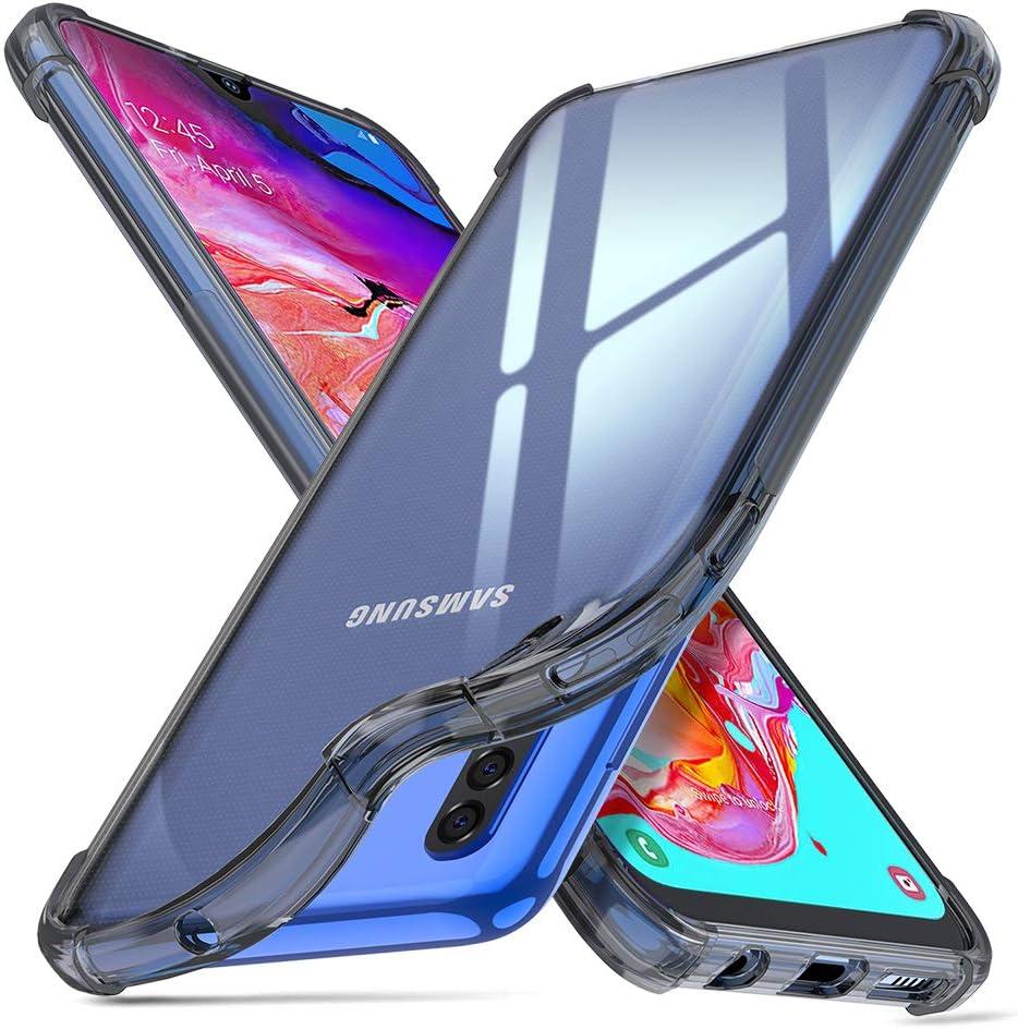 ORNARTO Funda Samsung A70,A70 Carcasa Silicona Transparente ...