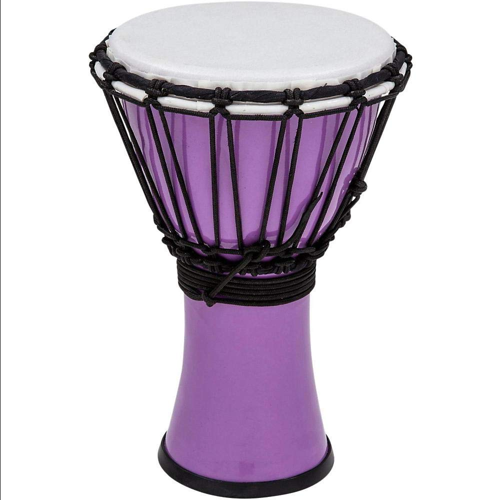 Freestyle ColorSound Djembe Pastel Purple 7 in. by Aromzen