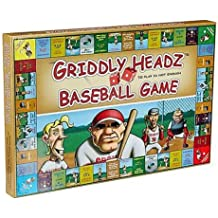Griddly Games Griddly Headz Baseball Deluxe Strategy Game