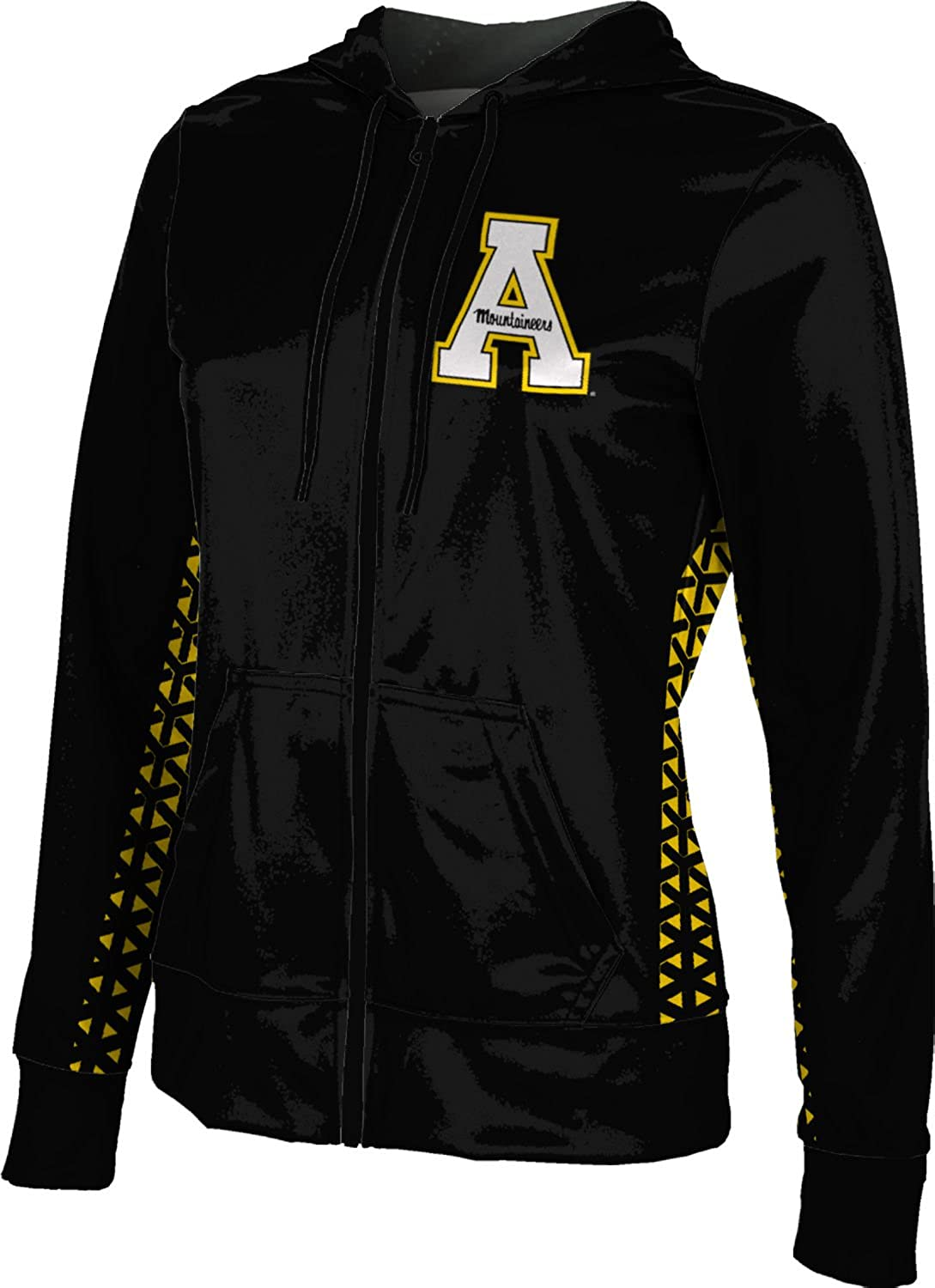 ProSphere Appalachian State University Girls Zipper Hoodie School Spirit Sweatshirt Geometric