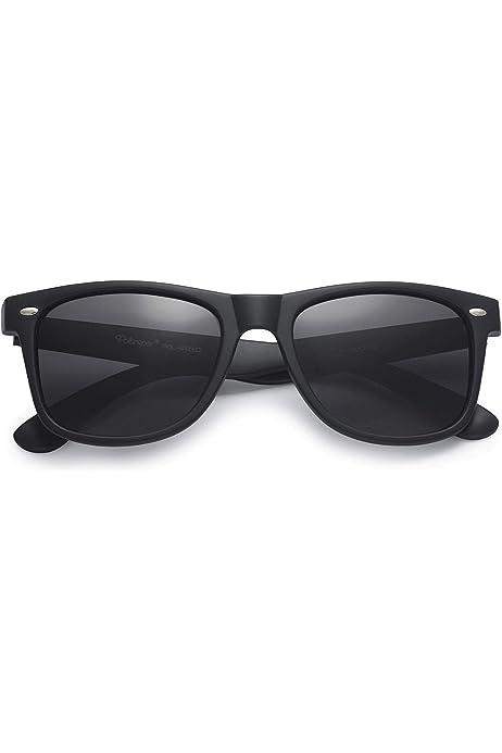 Classic Retro Polarized Square Sunglasses Men Women Unisex Driving Eyewear UV400