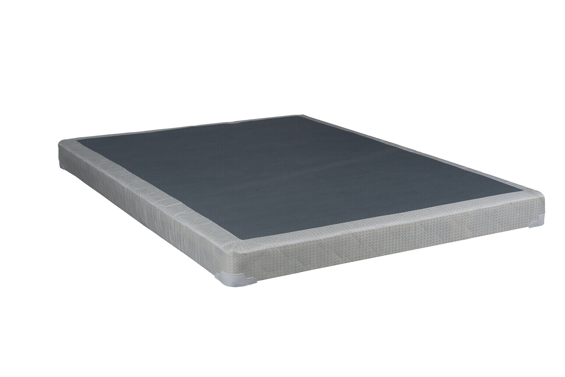 Continental Mattress Queen Size 4'' Fully Assembled Box Spring For Mattress by Continental Mattress (Image #3)