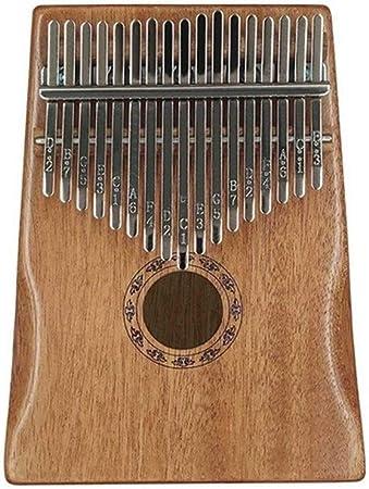 Kalimba, piano de pulgar 17 Claves del patrón Kalimba Pulgar ...