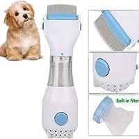 Peigne électrique de poux, Aprilshuai Tête Peignoir Produits chimiques gratuits pour Cats Dogs Fleas