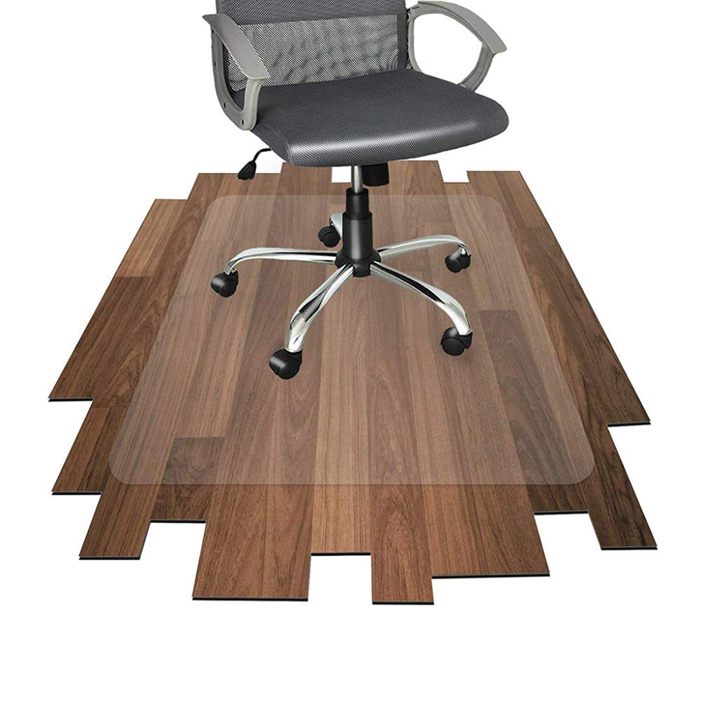 Office Chair Mat Non-Slip Carpet Hard Floors Protection PVC Wear Resistant Translucent Frosted,1.5mmThick-120x180cm