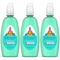 Johnsons No More Tangles Spray Detangler, 10 oz (Pack of 3)