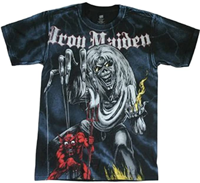 Global - Camiseta - Unisex - Global Iron Maiden Number Of The Beast Adulto (Camiseta