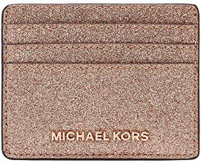 Michael Kors Jet Set Travel Large Leather Credit Card Holder