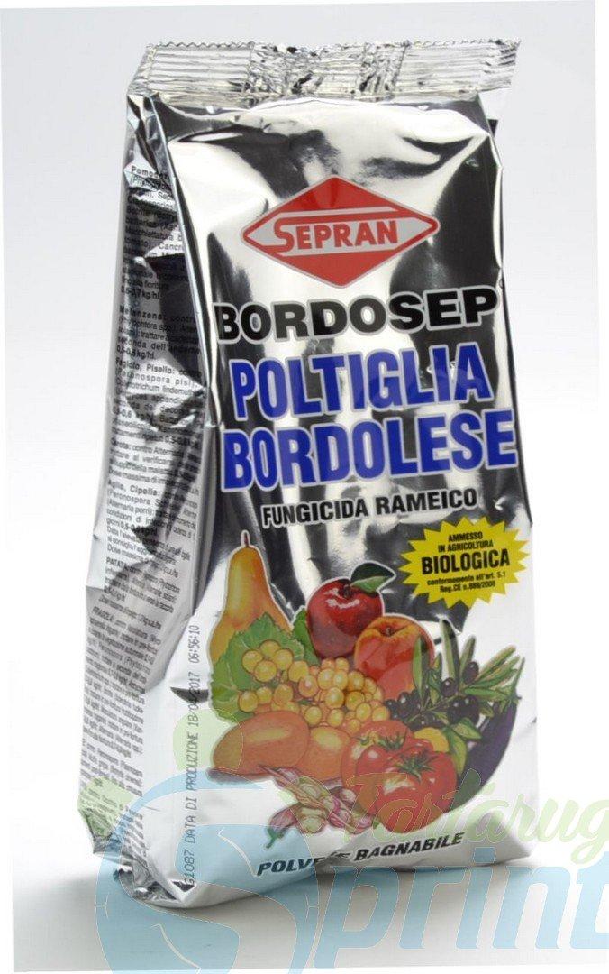poltiglia bordolese 1kg  BORDOSEP CLASSICO 1 KG poltiglia bordolese fungicida in polvere con ...