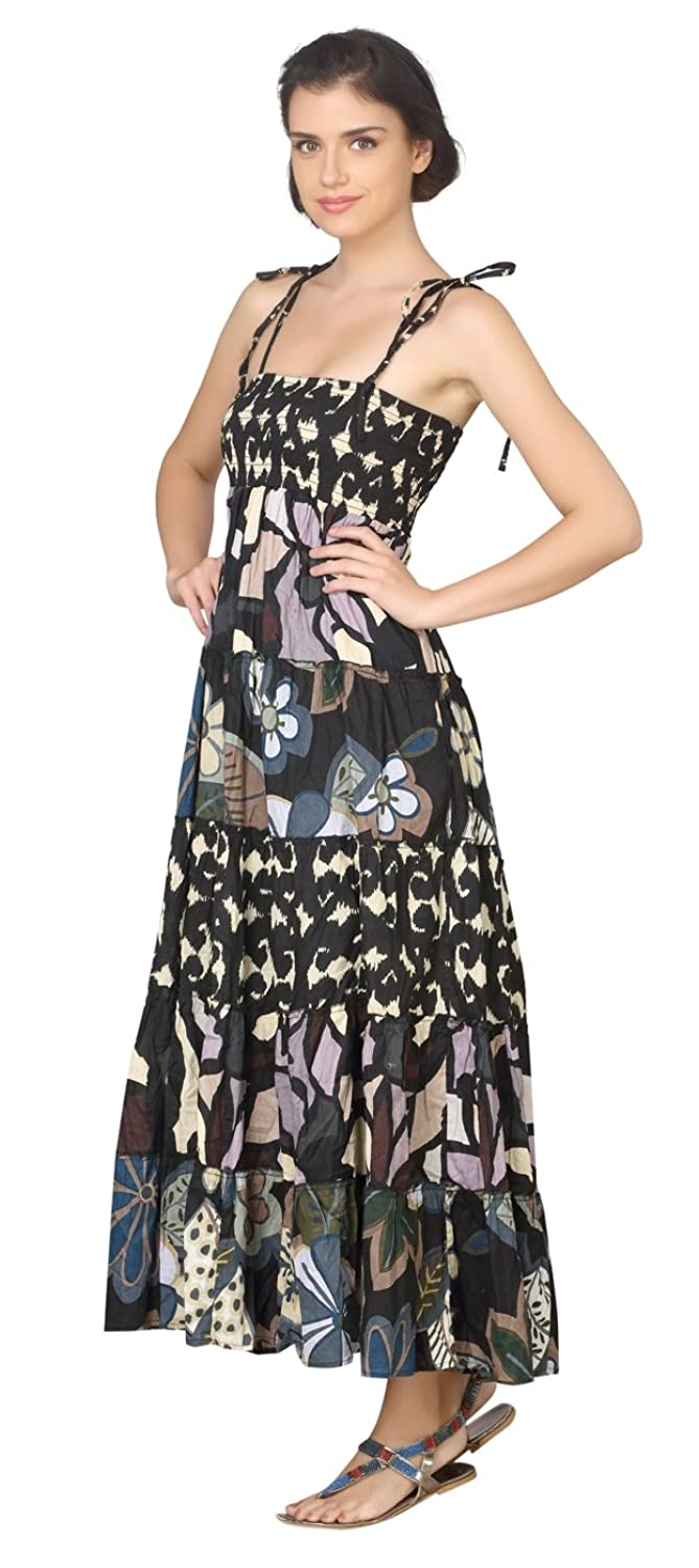 True Fashion Graphic Printed Cotton Women's Dress