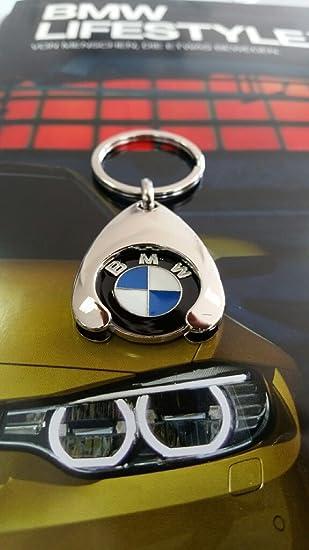 BMW Llavero Compra Chip Carrito de compras Euro Repuesto: Amazon.es: Coche y moto