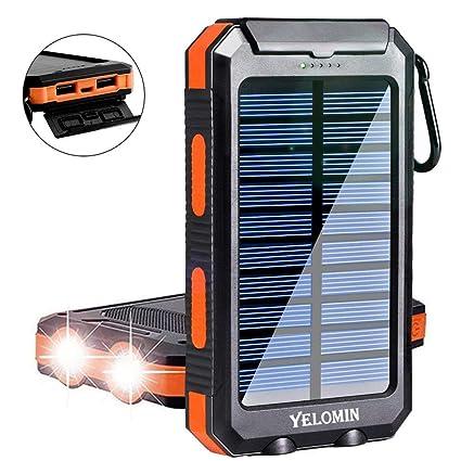 Amazon.com: Yelomin - Cargador solar portátil para ...
