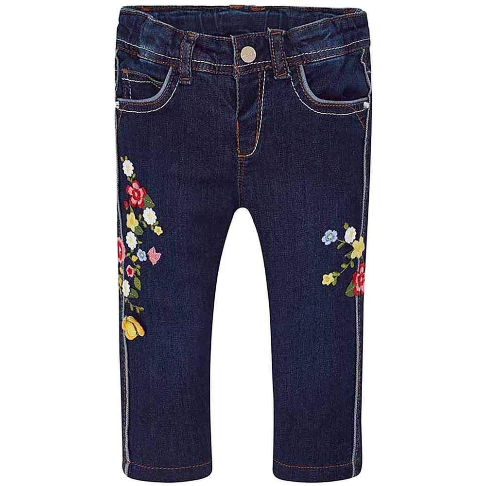 Mayoral Pantalone Lungo Jeans Bimba 1524 Scuro