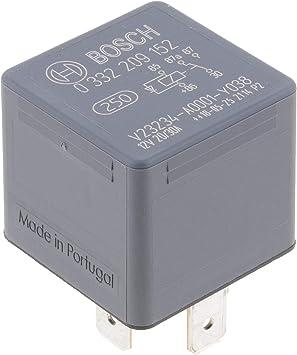 Bosch 0332209152 Mini Relais 12v 30a Ip5k4 Betriebstemperatur Von 40 Bis 100 Wechselrelais 5 Pin Relais Mit Diode Auto
