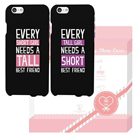free shipping 29c52 4a2d3 BFF Phone Cases - Tall and Short Best Friend Phone: Amazon.in ...