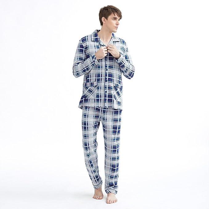 Pijamas de manga larga Ralph Lauren/Sencillo e informal de ropa juegos de los hombres