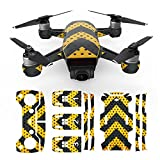 RCstyle Waterproof 3M Material Decorative Sticker Decal Skin Wrap Cover Kit For DJI Spark Drone