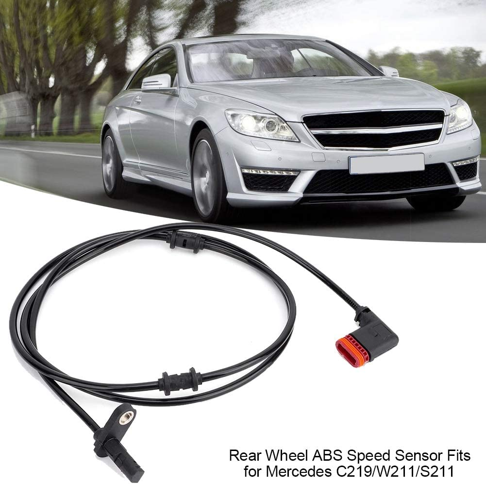 Rosvola Rear Wheel ABS Speed Sensor Fits for Mercedes
