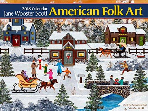 American Folk Art 2018 Calendar