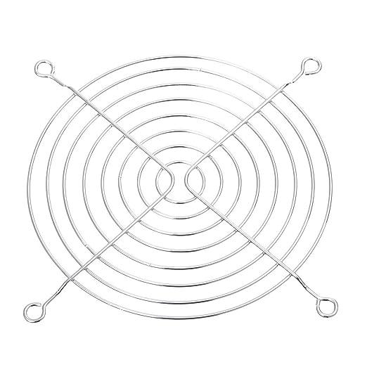 """1 opinioni per SODIAL(R) 3 pz 120 mm 4.7 """"Metal Fan Griglia protettiva di protezione per PC"""