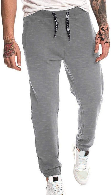 MODCHOK Pantalones de chándal de algodón para hombre: Amazon.es ...