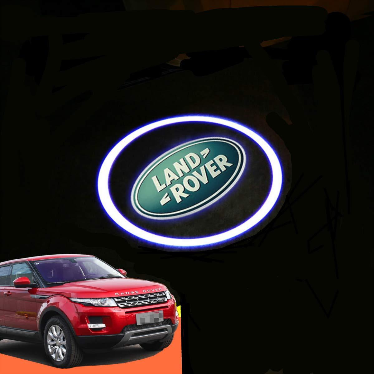 Crystal for Audi A8 A6L A5 A6 A4L A4 A1 R8 Q7 TT Car LED Projector Door Ghost Shadow Welcome Logo Light