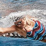 Speedo Women's Vanquisher 2.0 Mirrorred Swim Goggle, One Size, Hot Coral