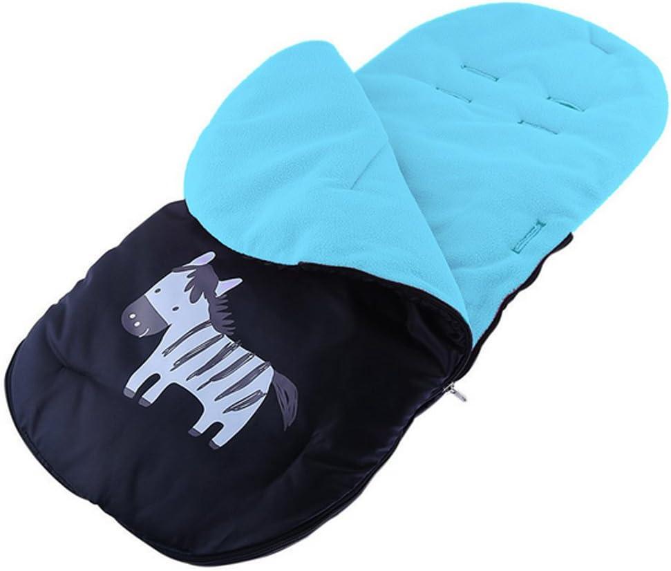 Gosear saco de beb/é para cochecitos de beb/é sillas de paseo o cunas Azul