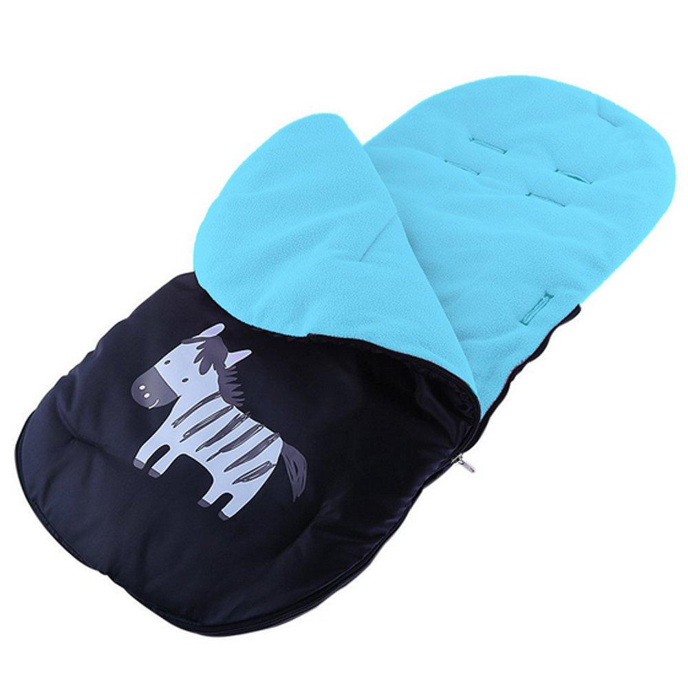 Gosear saco de bebé para cochecitos de bebé sillas de paseo o cunas Azul