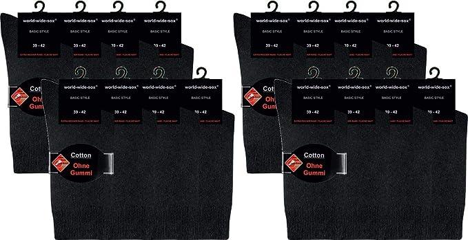 world wide sox 5-10 Paar Premium Socken aus Baumwolle