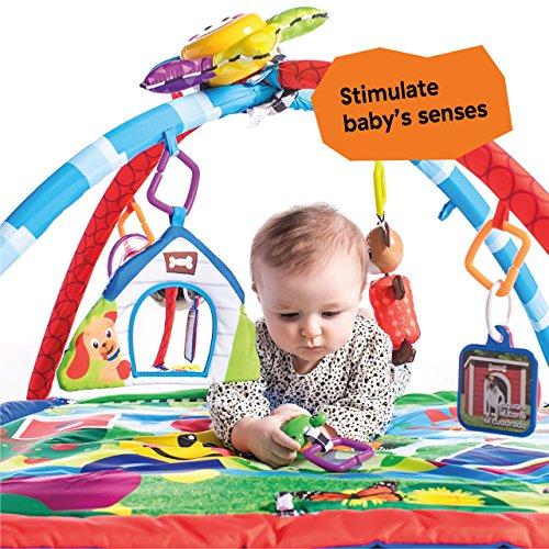 61FfukfSCML - Baby Einstein Caterpillar & Friends Play Gym with Lights and Melodies, Ages Newborn +