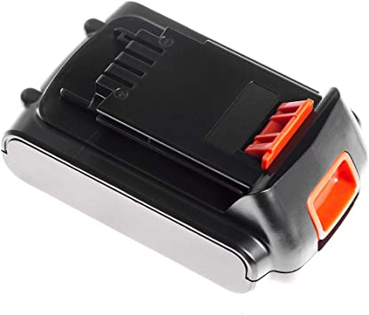 GC/® BL1518 BL2018 BL2018-XJ LBXR20 LBXR2020-OPE LB20 LBX20 Batterie pour Black /& Decker GKC1825L GTC1850L20 STC1820 Outillage /électroportatif 1.5Ah 18V Li-Ion cellules