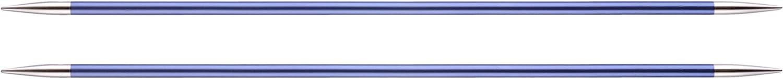 Knit Pro 20 cm x 4,50 mm Aluminium Zing /à Tricoter /à Double Face Violet