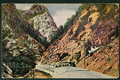 (CALIFORNIA ZEPHYR Stainless Steel Vista Dome Cars Train Railroad Postcard)
