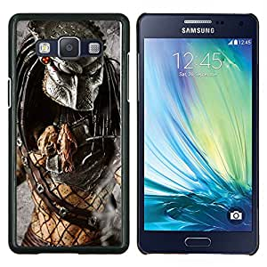 TECHCASE---Cubierta de la caja de protección para la piel dura ** Samsung Galaxy A5 ( A5000 ) 2014 Version ** --Guerrero Preditor