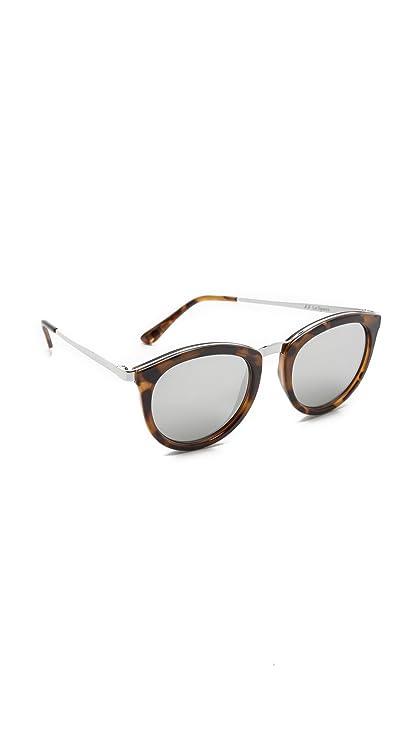 90db769857e Le Specs No Smirking Tortoise No Smirking Round Sunglasses Lens Category 3  Lens