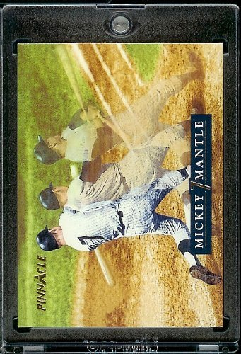 1992 Pinnacle Mickey Mantle Baseball Card #19 Roberto Clemente Mint