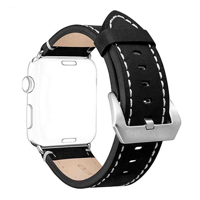 708684d066b Amazon.com  For iWatch Leather Band 38MM