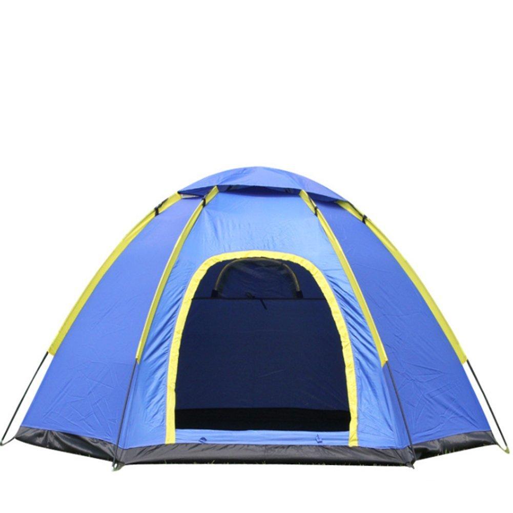 Hexagon Single Layer Wasserdicht Moskito-Proof Outdoor Campingzelt 3-4 Personen