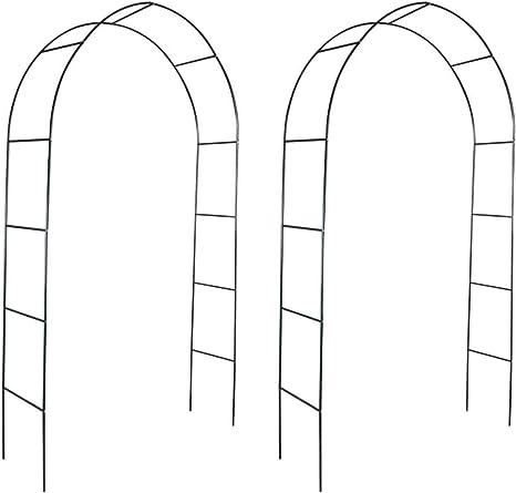 PJF 2X Garden Arch Arbor Pergola Trellis Archway Soporte para ...