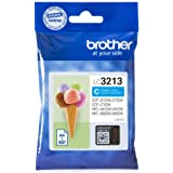 Brother LC3213C Inkjet Cartridge, High Yield, Cyan, Brother Genuine Supplies