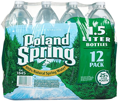 - Poland Spring Spring Water - 50.7 oz - 12 ct