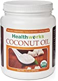 Healthworks Coconut Oil 16oz, Organic Extra Virgin