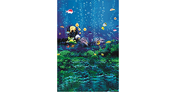 ScottDecor Youth Undersea Backdrop for Photography Woman Portrait Glamor Art Photography Background L24 X H12 Inch