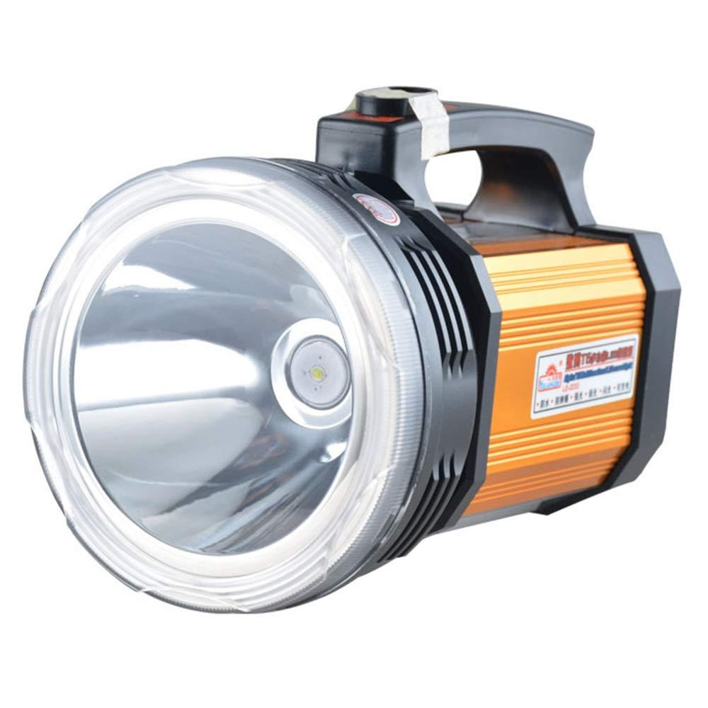 SYXL Outdoor-Blendung Suchscheinwerfer Lade-Fernbedienung Wasserdicht 50W Camping Home Taschenlampe