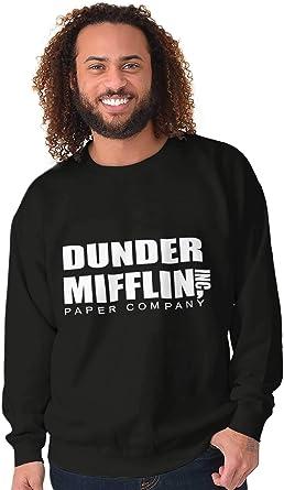 Brisco Brands Dunder Paper Company Mifflin Office TV Show Crewneck Sweatshirt